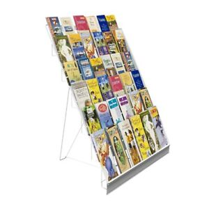 6 tiered Wire Display Rack Tabletops Literature Holder 2 5 Open Shelves