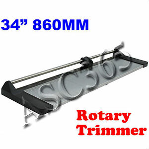 34in Safety Rotary Paper Trimmer Cutting With Extra Blade Brand New