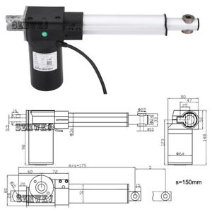 Linear Actuator 18 12v Multi function 330lbs Electric Motor wireless Controller