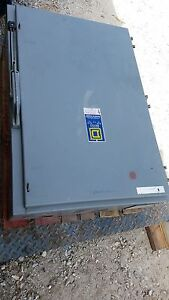 Square D Safety Switch 400 Amp Cat H325 Series D2