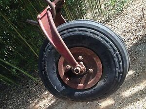 Tricycle Single Front Wheel Yoke Ih Farmall H Super H Narrow Front Tractor