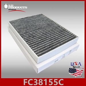 Auto1tech Carbon Fr3z 19n619 A Cabin Air Filter 2015 2018 Ford Mustang