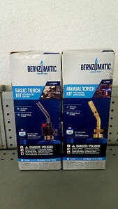 Bernzomatic Manual Torch And Trigger Start Torch Kits Wk2301 Ul100