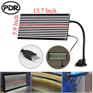 Us Pdr Led Line Board Scratch Reflector Light Paintless Dent Repair Removal Usb