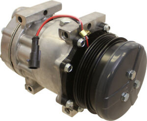 87802912 Compressor Sanden Style For Case Ih 100 110 115 120 125 130 Tractors