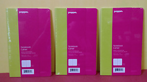 Lot Of 3 Poppin Ruled Lined Notebook Cahiers 8 1 4 x 5 Pink Free Shipping