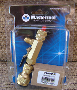 Mastercool 91496 Valve Core Removal Tool Installer W accessport
