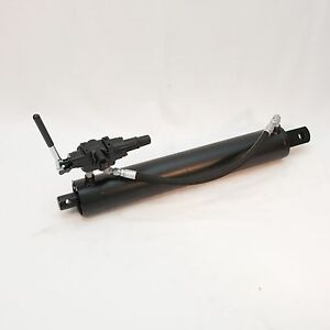 4 X 24 Replacement Hydraulic Log Splitter Cylinder W detent Valve A7 New