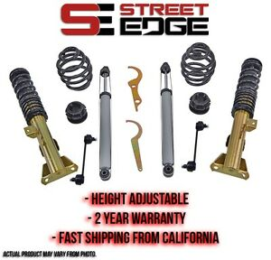 Street Edge Coilover Kit 6 92 98 Bmw E36 318i 318is 323i 325is 328is Coilovers