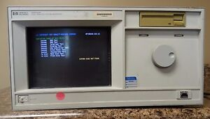 Hp Agilent Keysight 16500a With 16550a