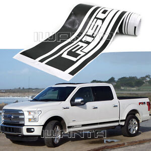 2x Graphics Side Skirt Stripe F150 Sticker Body Decal For Ford F 150 2015 2016