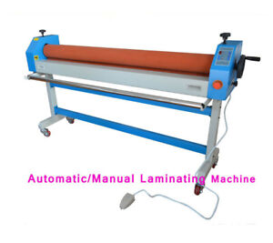 Automatic Electric manual 63in 1600mm Large Cold Laminating Machine Plywood Pack