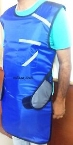 X Ray Protective Blue Lead Apron Lead Vest New 3