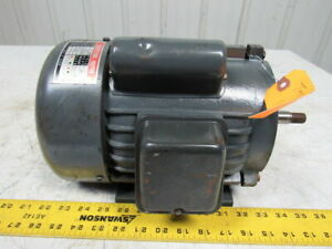 1 Hp Induction Electric Motor 110 220v 1ph 3600 Rpm