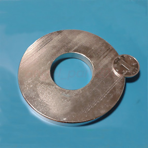 N50 100mm X 10mm Hole 40mm Neodymium Permanent Strong Magnets