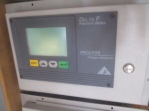 Delta F Model Pah0025 Process Oxygen Analyzer Missing Analyzer