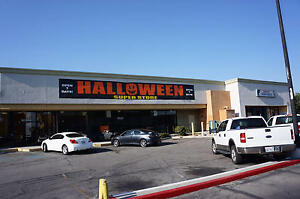 Halloween Merchandise Inventory And Equipment For Sale