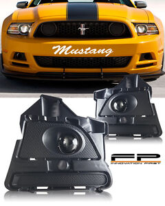 2013 14 Ford Mustang V6 Gt Boss 302 Clear Projector Fog Light Lamp Complete Kit