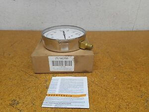 Grainger International 18c750 Pressure Gauge 0 160psi 1 4npt Connector New