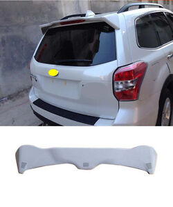 Factory Style Spoiler Wing Abs For 2013 Up Subaru Forester Spoilers 2015