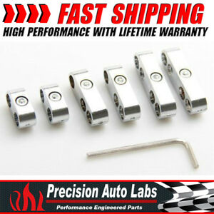 Hot Sell 7mm 8mm Chrome Spark Plug Wire Separators Dividers Looms Fit Ford Chevy