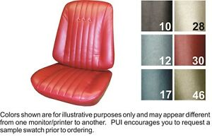 1968 Chevrolet El Camino Seat Covers Pui