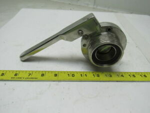 1 1 2 Stainless Steel Butterfly Valve