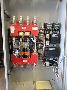 Russelectric Rmtd 4004ce 400 Amp 277 480v 3p4w Auto Transfer Switch Ats271
