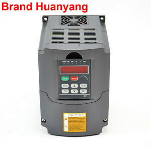 Newest 110v 1 5kw 2hp Variable Frequency Drive Inverter Vfd Top Quality