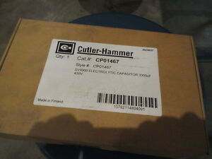 Cutler Hammer Sv9000 Electrolytic Capasitor All Hp 3300uf 430v nib
