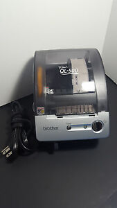 Brother P touch Ql 500 Thermal Label Printer Manual Cut With Labels