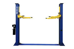 Apluslift Hw 9kbp 9000lb 2 Post Heavy Duty Floor Plate Car Lift Truck Hoist