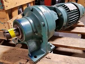Sterling 1 5 Hp 3 Phase Gear Motor W Sm Cyclo Reducer 35 1 Ratio