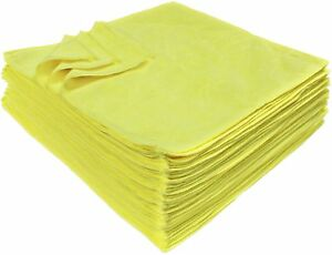 5 Jumbo Auto Professional Microfiber Towels For Home Car Cleaning Polishing