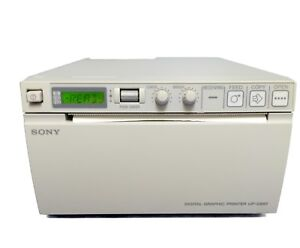 Sony Upd 897 Ultrasound Printer Tested By Bio medical Engineers With Warranty