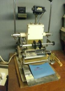The Hot Stamper Printer Gold Foil Press Model 1002