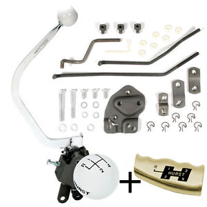 Hurst 4 Speed Shifter Kit 1955 1956 1957 Chevy Bench Seat With Factory T10 410