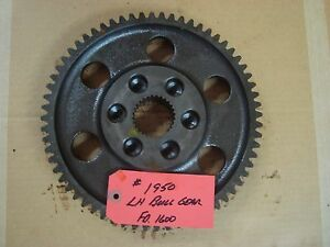 Ford 1600 Tractor Differential Left Final Bull Gear Ref Sba326370030