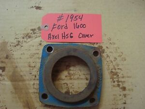 Ford 1600 Tractor Rear Axle Housing Cover Ref Sba326360020