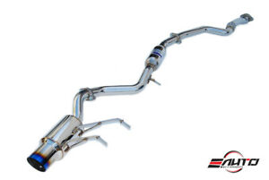 Invidia N1 101mm Titanium Tip Catback Exhaust For Mazda Miata Mx5 Mx 5 16 19