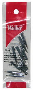 10 Pack Weller Eta Flat Original Solder Tip For Pes51 Wes51 Special