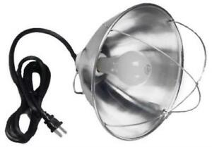 300w Hanging Brooder Lamp 10 Aluminum Reflector 8 18 2 Sjt Cord Incl