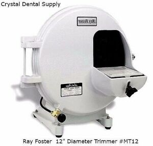 Ray Foster 1 2hp Mt12 Dental Trimmer 12 Diameter 304mm Motor 101584 New