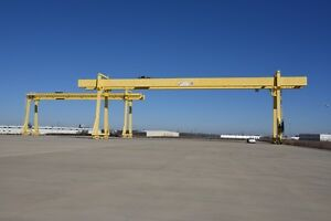 North American Industries 90t 45t Gantry Cranes With 985 Runway 171 Span