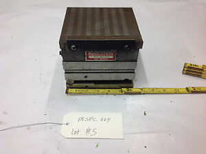 6 5 Magnetool Mspc664 Mspc 664 Magnetic Compound Chuck Sine Plate Combo