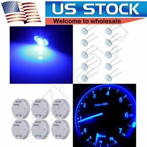 6x Gm Stepper Motor X27 168 Speedometer Cluster Gauge Repair Kit 4 7mm Blue Led