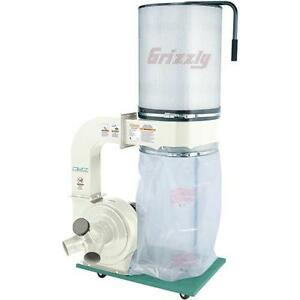 G0548zp Grizzly 2hp Canister Dust Collector W Aluminum Impeller