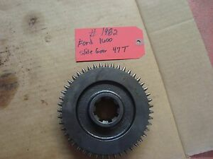 Ford 1600 Tractor Transmission Slide Gear 47t Ref Sba322340170
