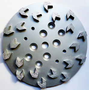 2pk 10 Arrow 20 Seg 20 30 Diamond Disc Plate Edco Grinder Concrete Mastic best