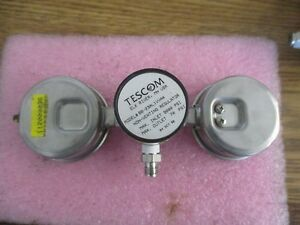Tescom Model Bb 23al1vva4 Non venting Regulator With Gauges